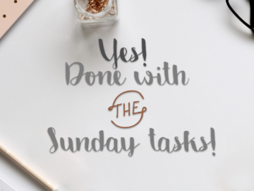 Sunday – well done